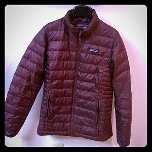Patagonia Down Sweater Jacket perfect warmth !